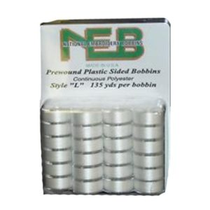 NEB Embroidery Bobbins 24ct.